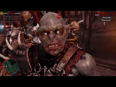 Shadow of Mordor: TEST OF SPEED  