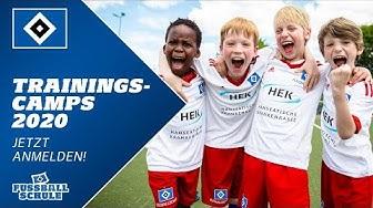Jetzt für die Trainingscamps 2020 der HSV-Fußballschule anmelden!