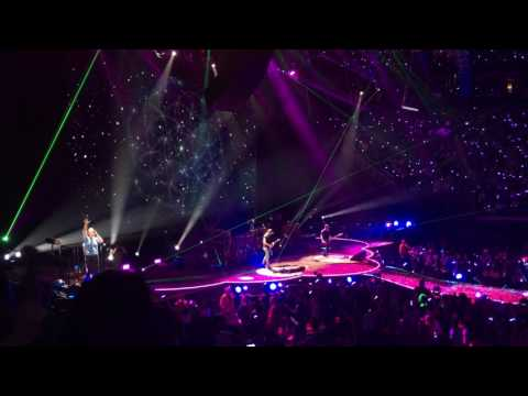 Coldplay Performs A Sky Full of Stars @ Vivint Smart Home Arena SLC, UT
