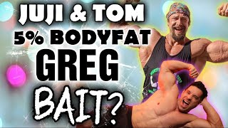 JUJIMUFU || Juji & Tom || Dexa Scans & Calories In - Calories Out || Did they Bait me???