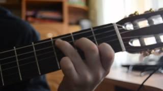 Юрий Визбор-Перевал(лагерная песня). Видеоурок на гитаре