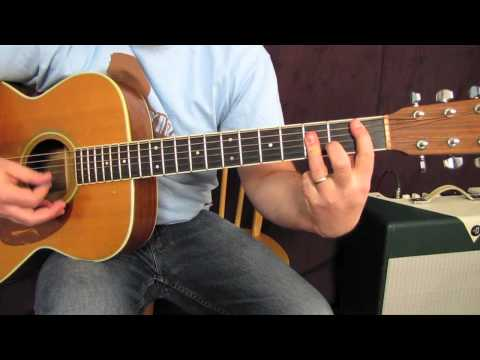 Acoustic Guitar Lesson - How to Play