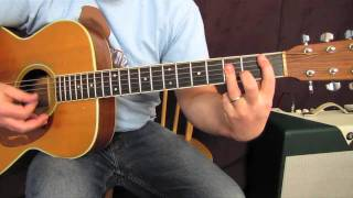 "Acoustic Guitar Lesson - How to Play ""Home Sweet Home"" - Motley Crue - Carie Underwood"
