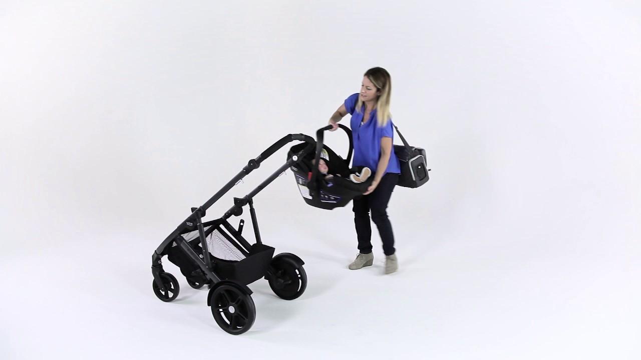2017 B Ready B Ready G3 Stroller Attaching A Britax Infant Car