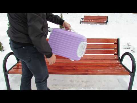 Unboxing Suitcase Cute Trolley Box Student Universal Baggage Trolley Case
