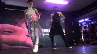 cl dr pepper skrillex dirty vibe dance cover by hikaru