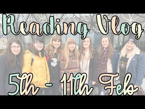 Reading Vlog FT. BOOK BLOGGER MEET UP (5th - 11th Feb 2018)
