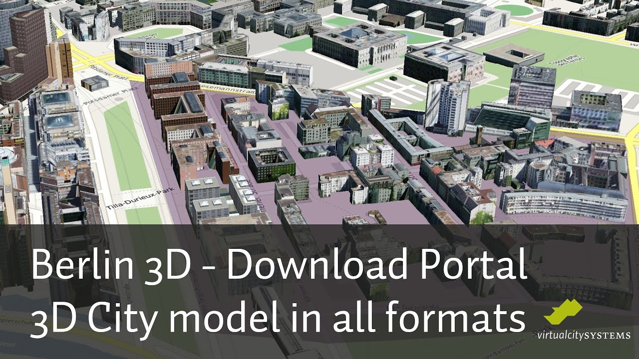 Open Data Berlin 3D   Download Portal   3D City model in all formats     Open Data Berlin 3D   Download Portal   3D City model in all formats