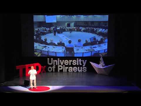 Zooming out time: Yiannis Laouris at TEDxUniversityofPiraeus