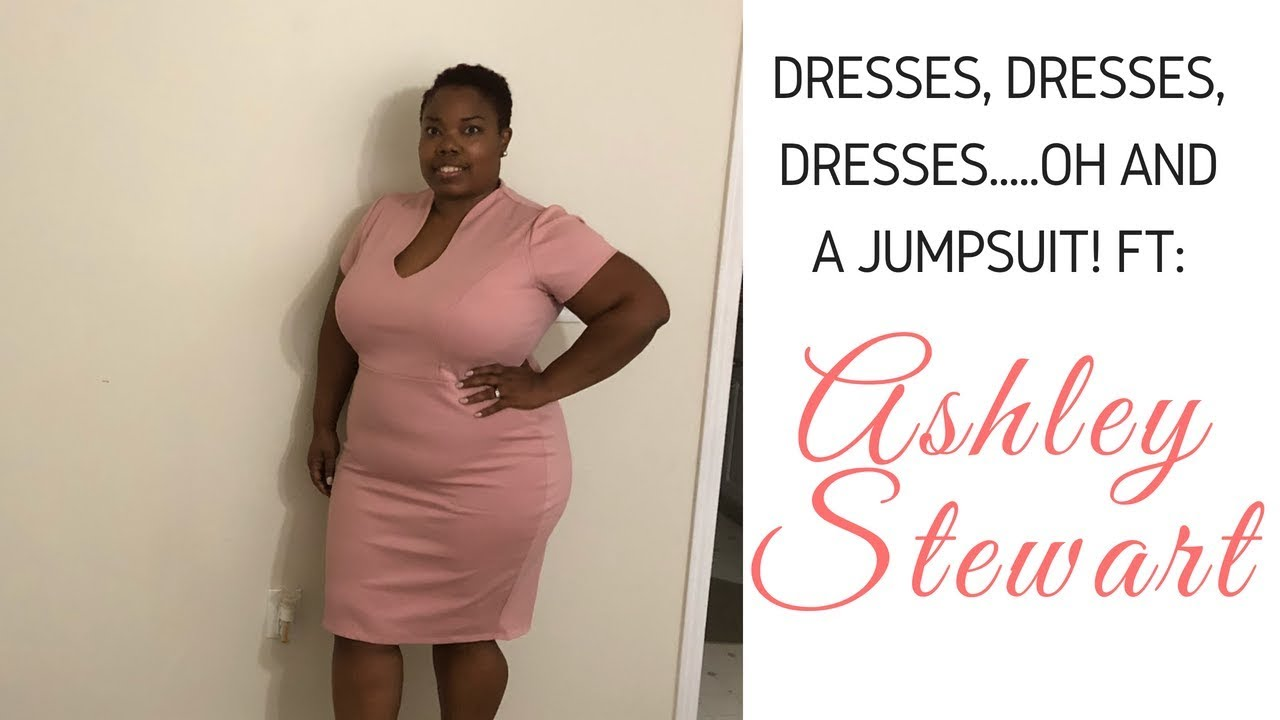 Plus Size Fashion Try On Review Feat Ashley Stewart Youtube