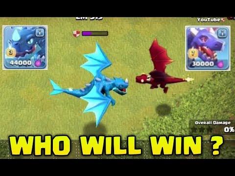 OMG 😱MAX ELECTRO DRAGON  VS MAX DRAGON FIGHT ! Who will Win !?