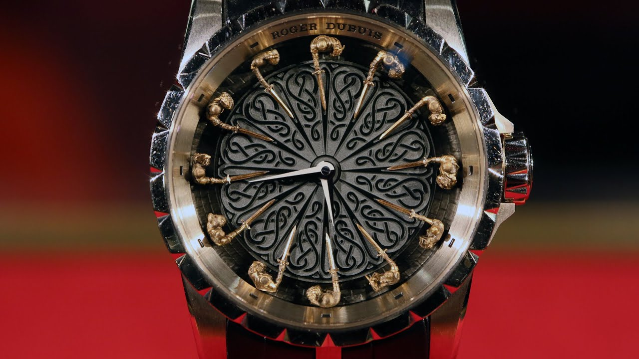 Knights Of Round Table Watch Roger Dubuis Avant Garde Watchmaking With Ceo Jean Marc Pontroue