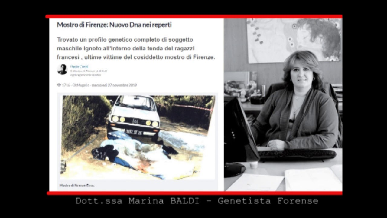 Mostro di Firenze - Ritrovato DNA sconosciuto1 - YouTube