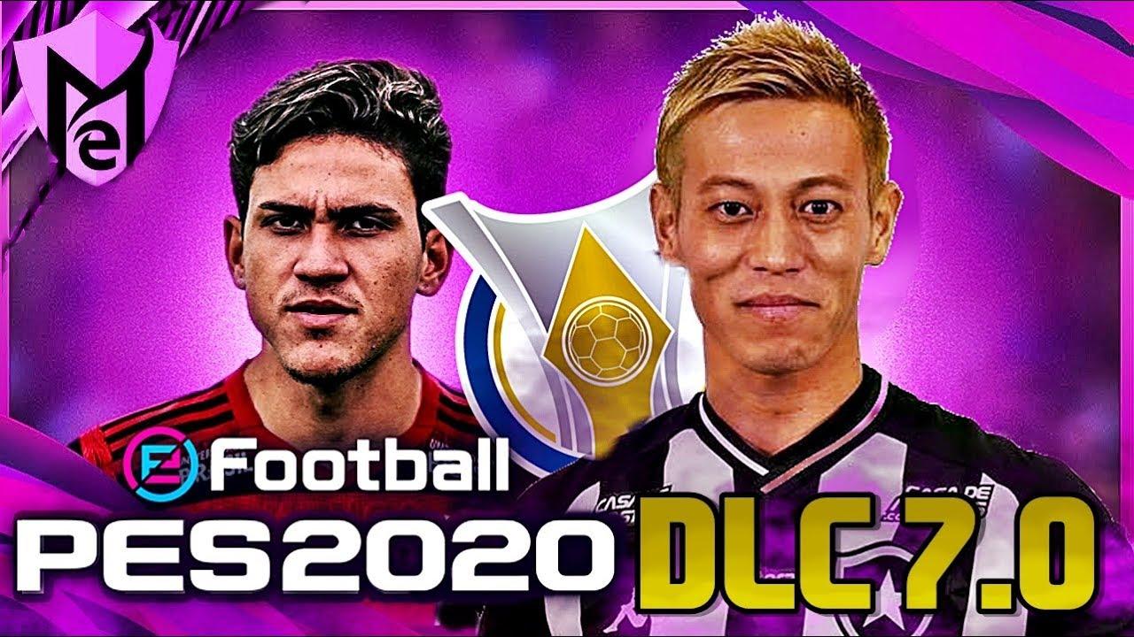 PES 2020 - OS TIMES BRASILEIROS SERÃO ATUALIZADOS NA DLC 7.0 ?!! - NOVIDADES !!!
