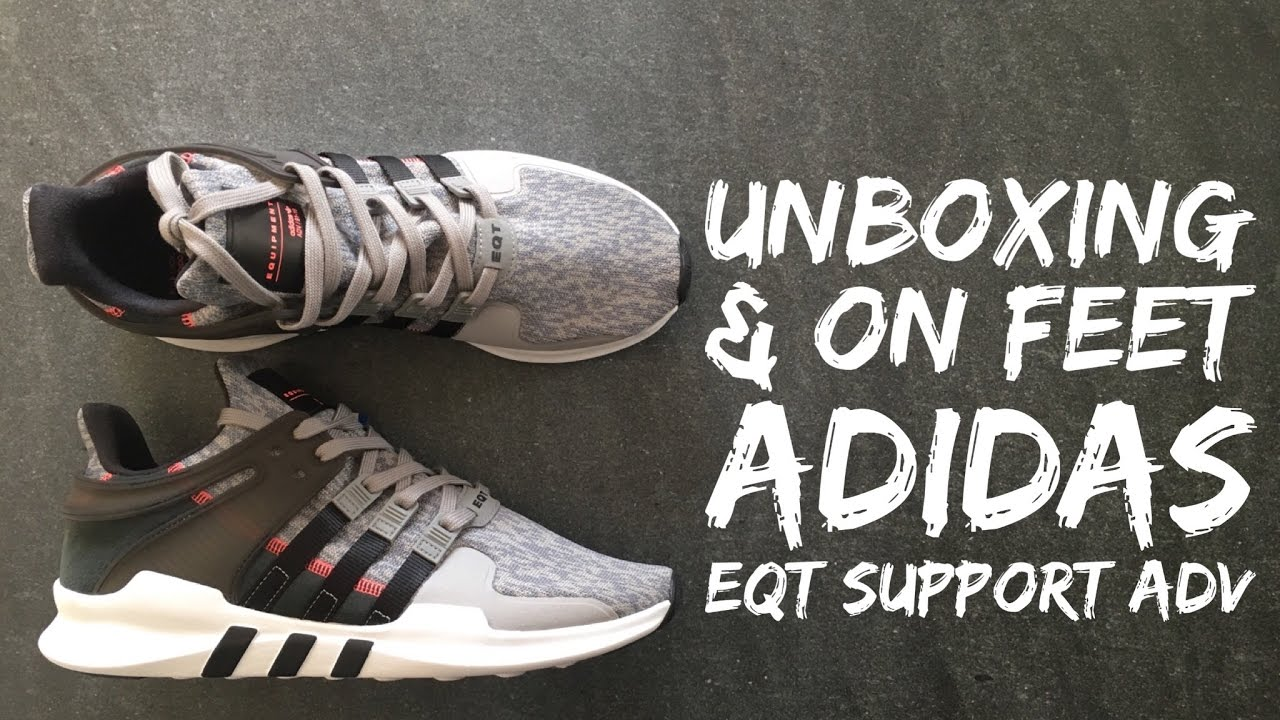 adidas Equipment Running Support ADV EQT Pink Primeknit Lifestyle
