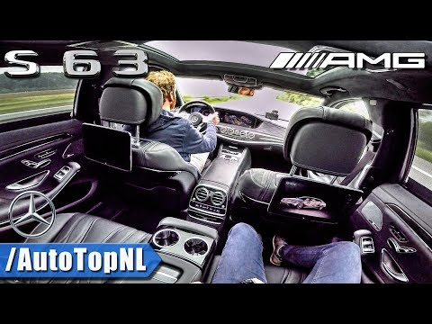 2018 Mercedes-AMG S63 PASSENGER POV On AUTOBAHN By AutoTopNL
