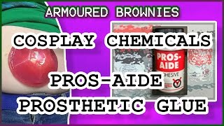 Costume Chemicals - Pros-Aide, Prosthetics Glue Tutorial