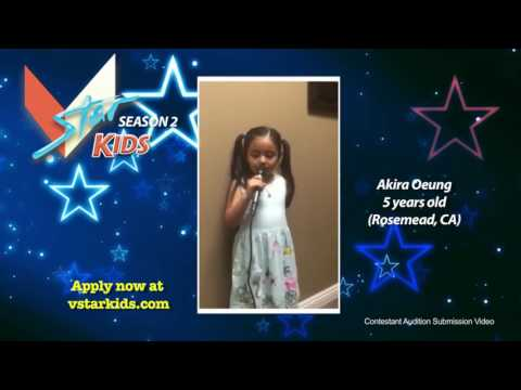 VSTAR Kids Season 2 Contestant #146 – Akira Oeung