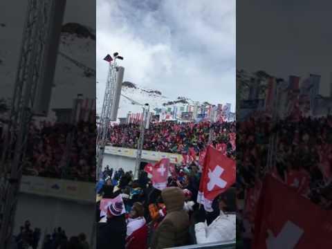 Ski World Championships St. Moritz - Marcel Hirscher wins Giant Slalom