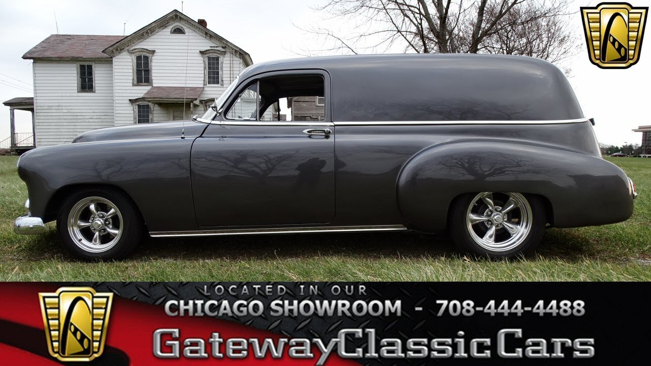 1951 Chevrolet Sedan Delivery Gateway Classic Cars Chicago #1326