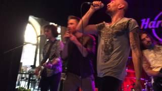 "Minus One and Sergey Lazarev ""Alter Ego"" - Hard Rock Cafe Stockholm 12.05.2016"