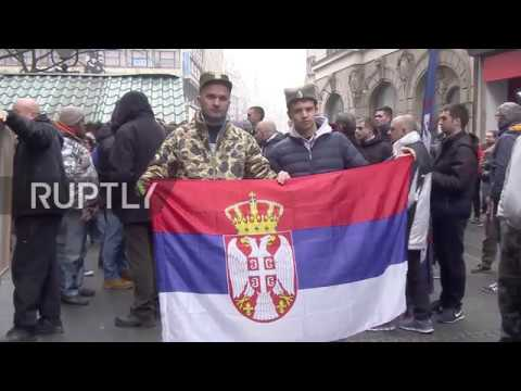 Serbia: Protesters in Belgrade rally in support of Montenegrin opposition leaders