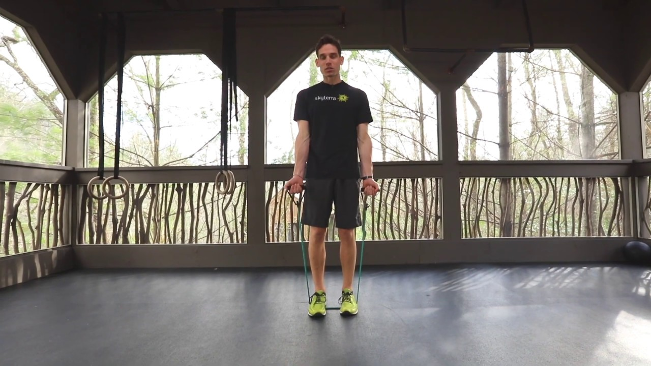 Movement Library: Resistance Band Bicep Curls