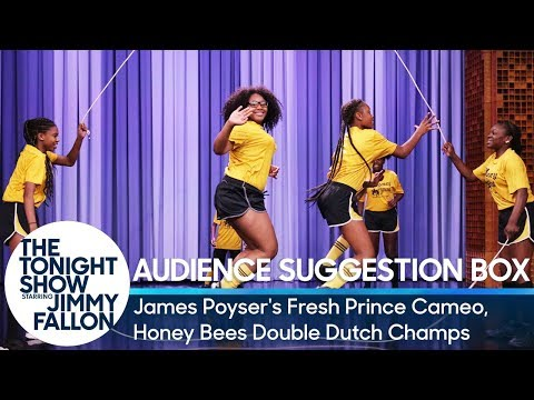 Audience Suggestion Box: James Poyser's Fresh Prince Cameo, Honey Bees Double Dutch Champs