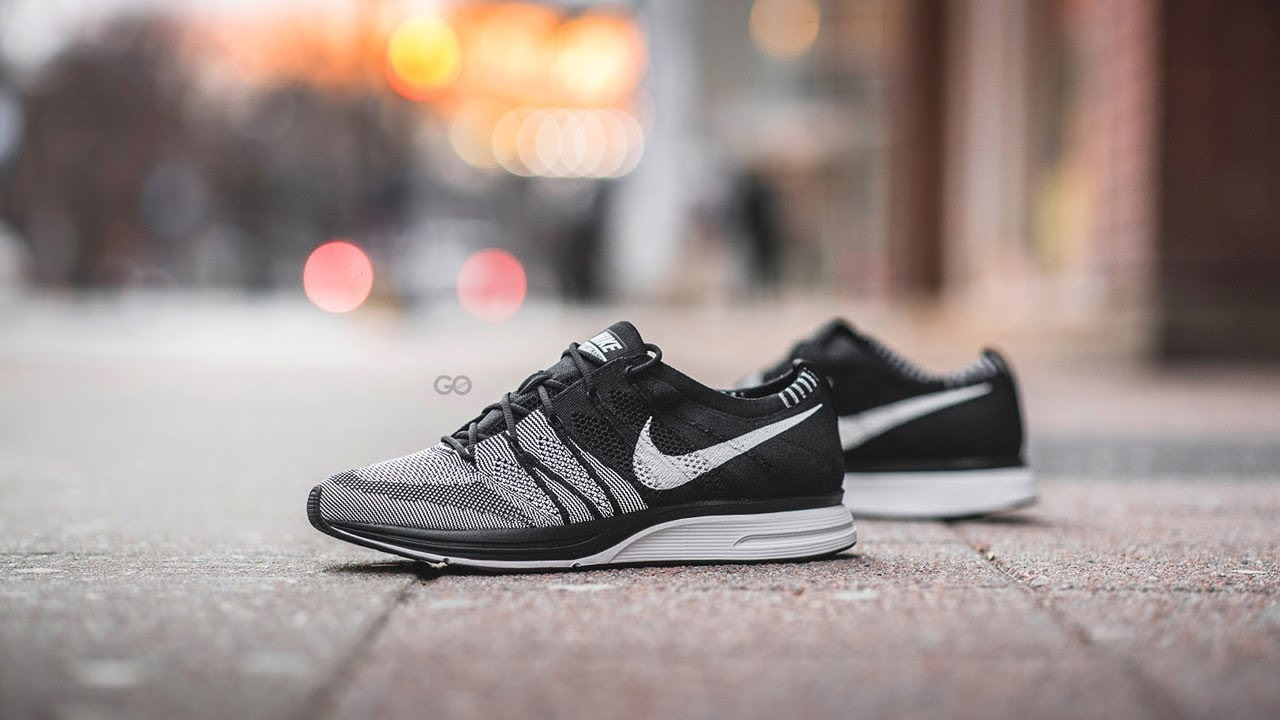 7465da41f58799 Review   On-Feet  Nike Flyknit Trainer QS
