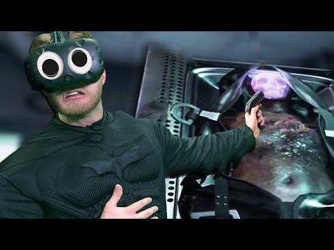 WHAT HAPPENED TO HIM!? | Batman: Arkham VR |