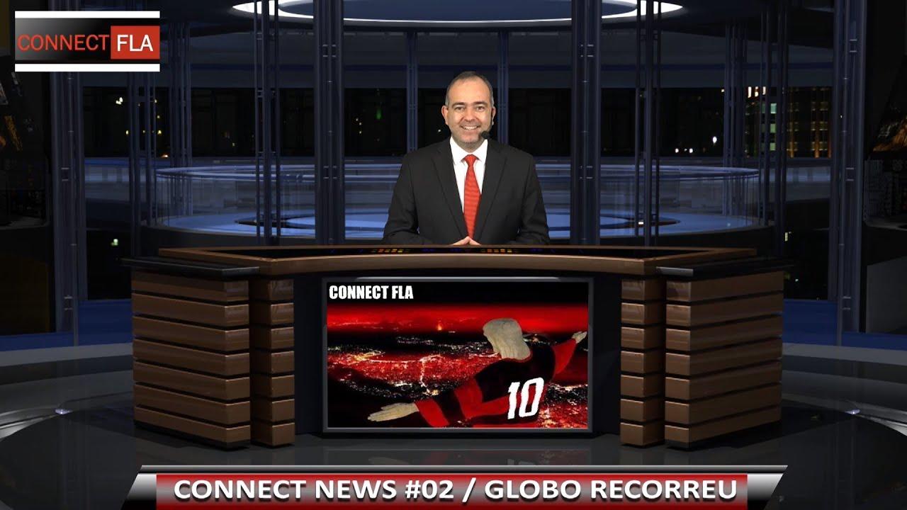 CONNECT NEWS #02   GLOBO RECORREU   FERJ   INGRESSO SOLIDÁRIO
