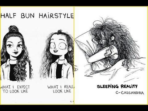 10+ women's hair problems that men will not understand