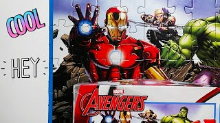 Avengers Magic Puzzle 50 peaces.