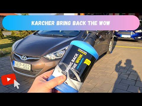Karcher Bring Back The Wow car shampoo test