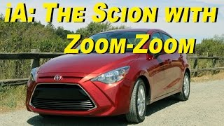 2016 Scion iA Review and Road Test - In 4K!