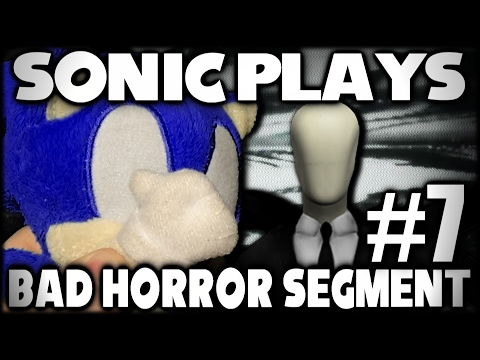 Sonic Plays: Bad Horror Segment #7 (Crappy Slender Games) [60FPS]