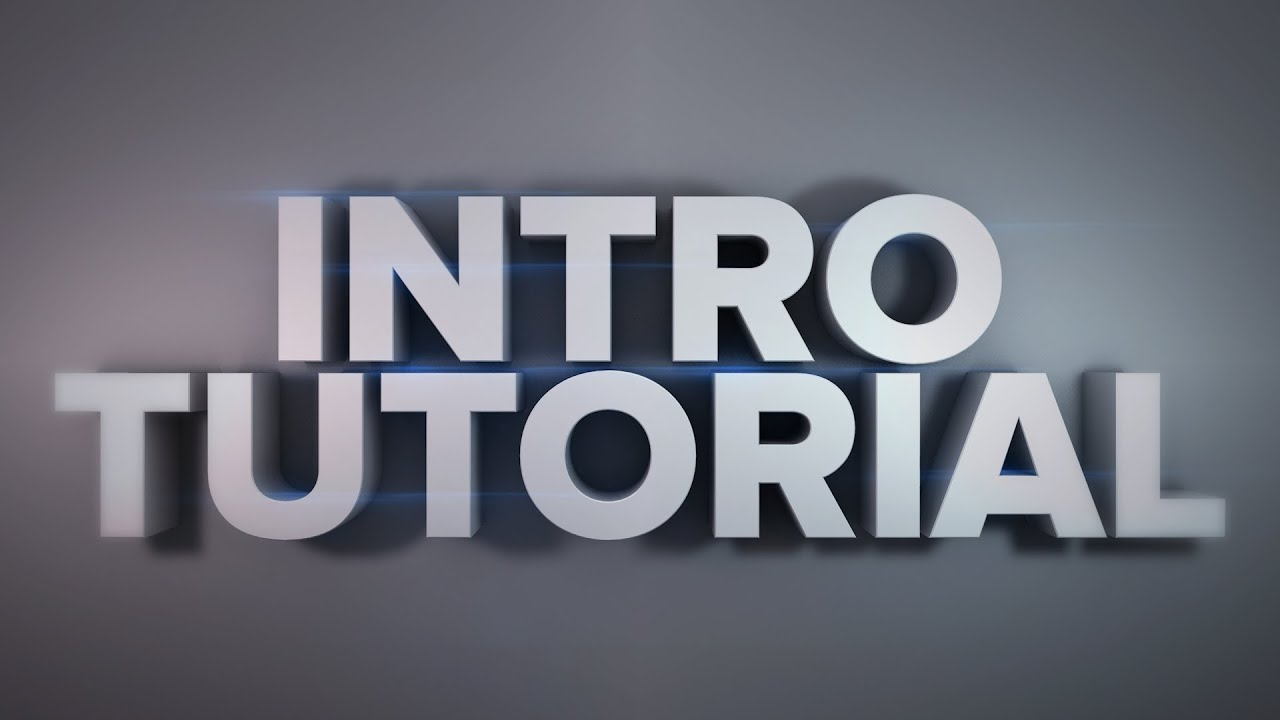 Intro animation tutorial cinema 4d part1 youtube for Cinema 4d raumgestaltung