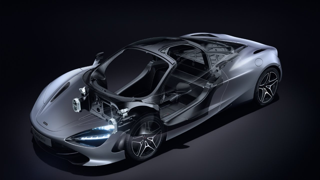 McLaren 720S - Carbon Fibre Core