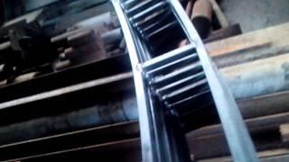 Сварка полуавтоматом АРИА260 тонкостенной трубы(Сварка полуавтоматом АРИА 260 пром тонкостенно профильно трубы. очень малое разбрызгивание, фактически..., 2015-04-08T11:43:27.000Z)