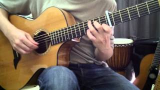[Solo Guitar] 晴れた日に…/On a Clear Day 魔女の宅急便/Kiki