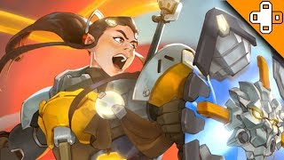 BRIGITTE GAMEPLAY! This new hero is AWESOME!