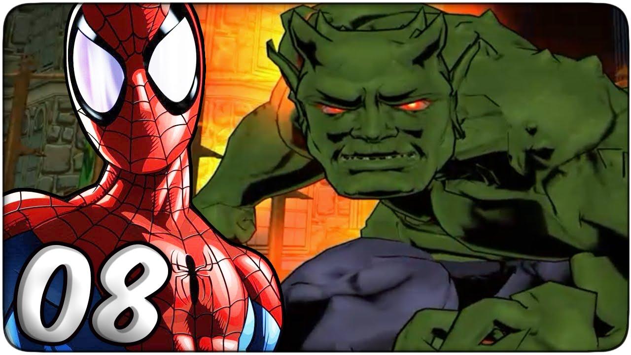 El Duende Verde Ultimate Spider Man 08 Tiasmile Youtube