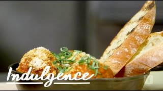 The Delicious Meatball And Burrata Recipe You've Got To Try With Michael Ferraro