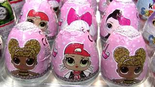 Kinder eggs Surprise Chocolate eggs toy surprises chupa chups