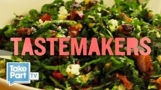 How To Make Shredded Swiss Chard Salad | Takepart Tastemakers | Food Inc. | Takepart Tv