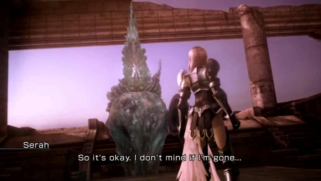 Don T Forget Me Cutscene Lightning Reunites With Serah