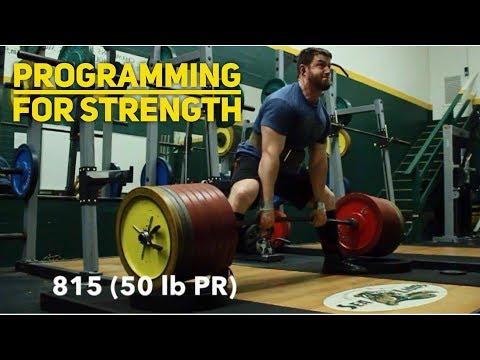 HOW To Program For Strength: Beginners vs Intermediate (Ft. Garrett Blevins)