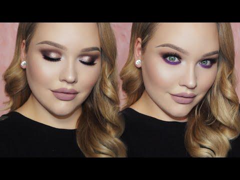 PURPLE Holiday Glam Makeup Tutorial