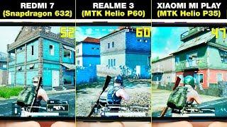 REDMI 7 vs REALME 3 vs XIAOMI MI PLAY | БОЛЬШОЕ СРАВНЕНИЕ В ИГРАХ! FPS + НАГРЕВ | GAMES TEST