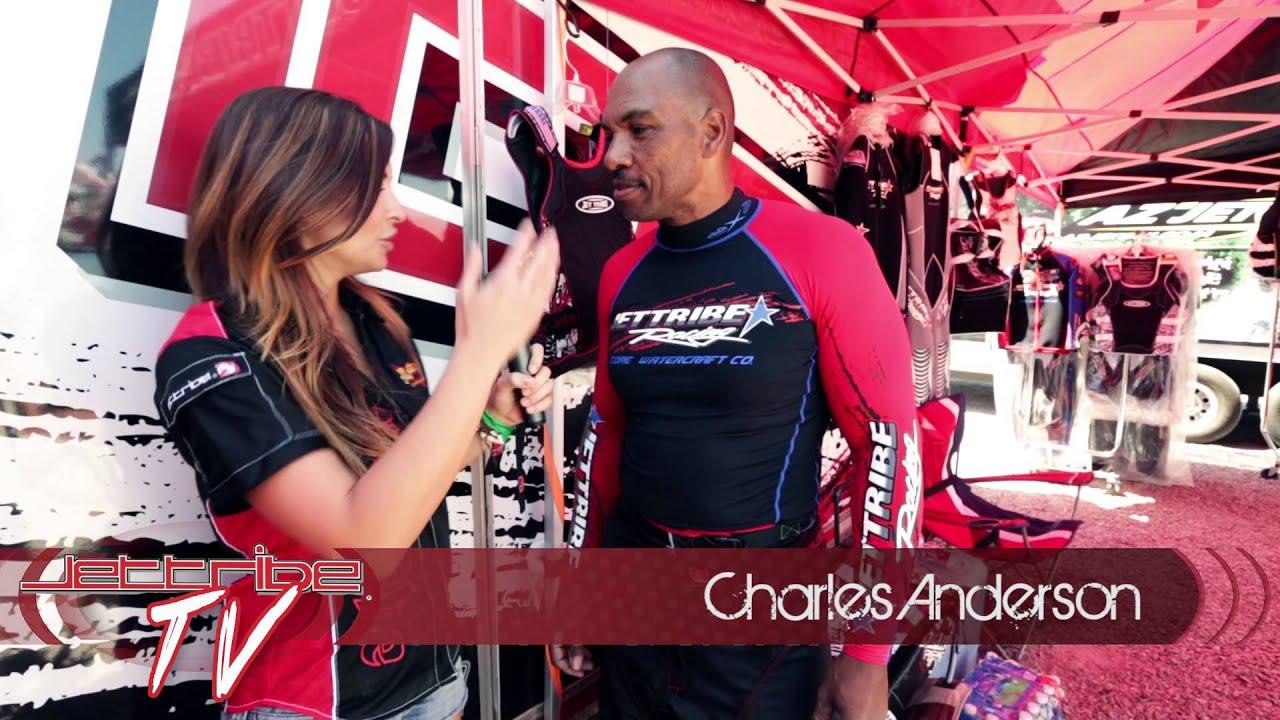 Amber Goetz jettibe tv - host amber goetz - interview with charles anderson - sport  class jetski racer - hx
